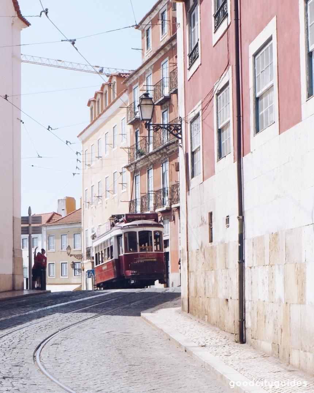 Lisbon tram good city guides